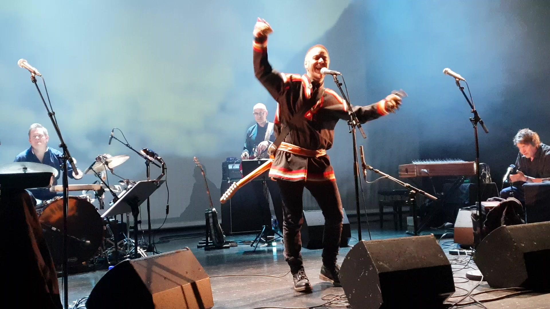 Georg Buljo samisk festkonsert Oslo 2feb19