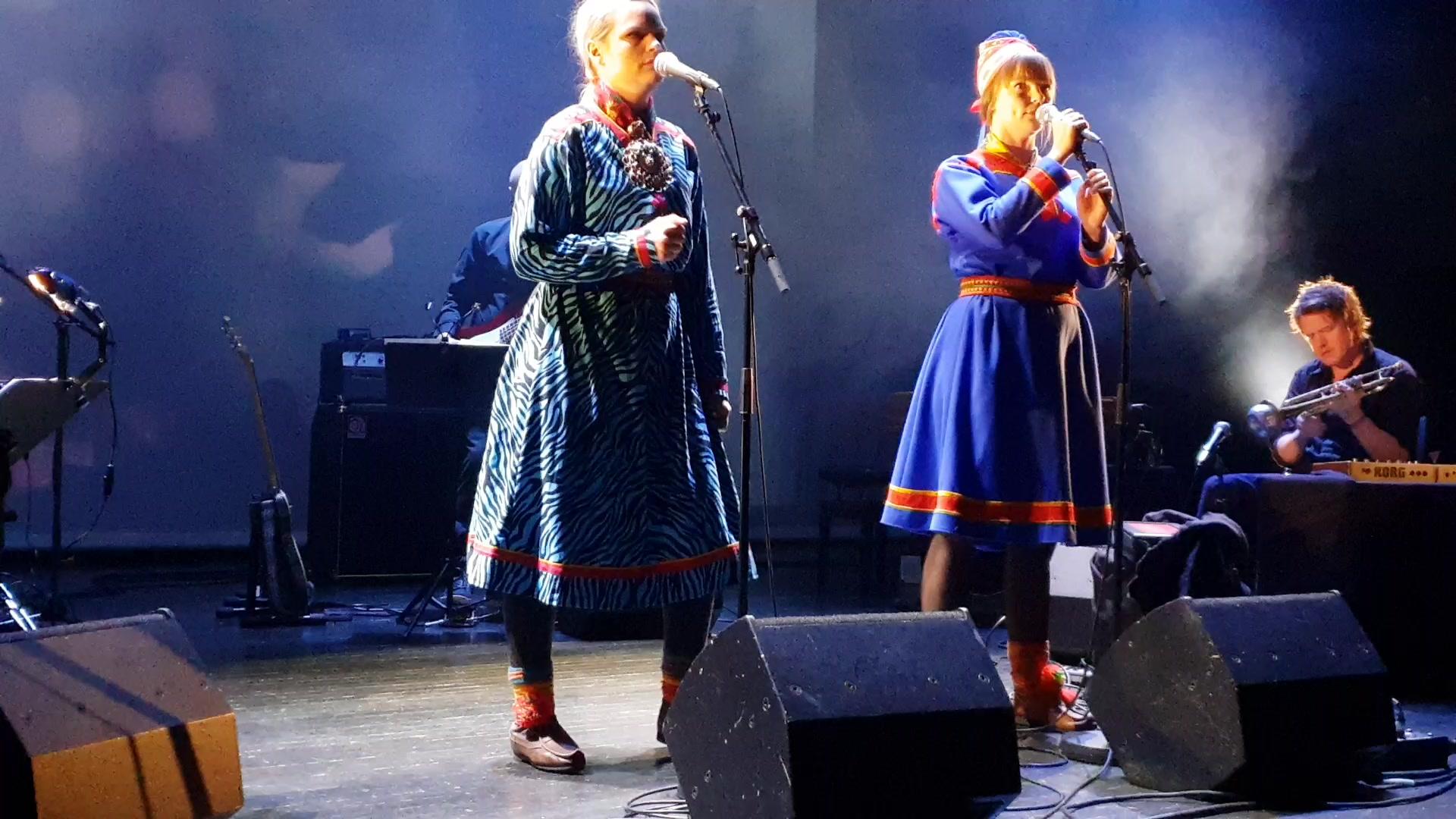 Ozas samisk festkonsert Oslo 2feb19