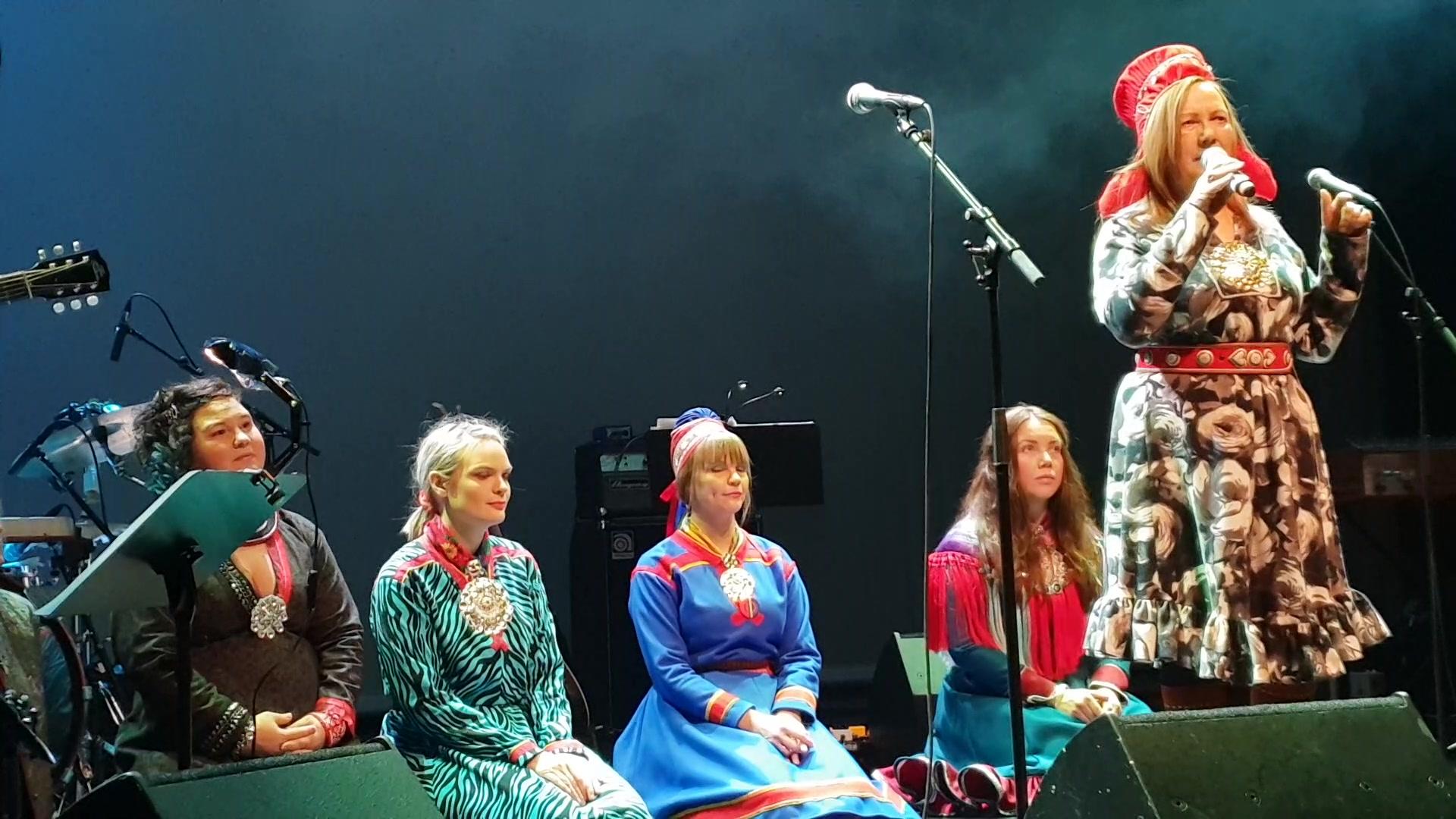 Avslutningsnummer samisk festkonsert Oslo 2feb19