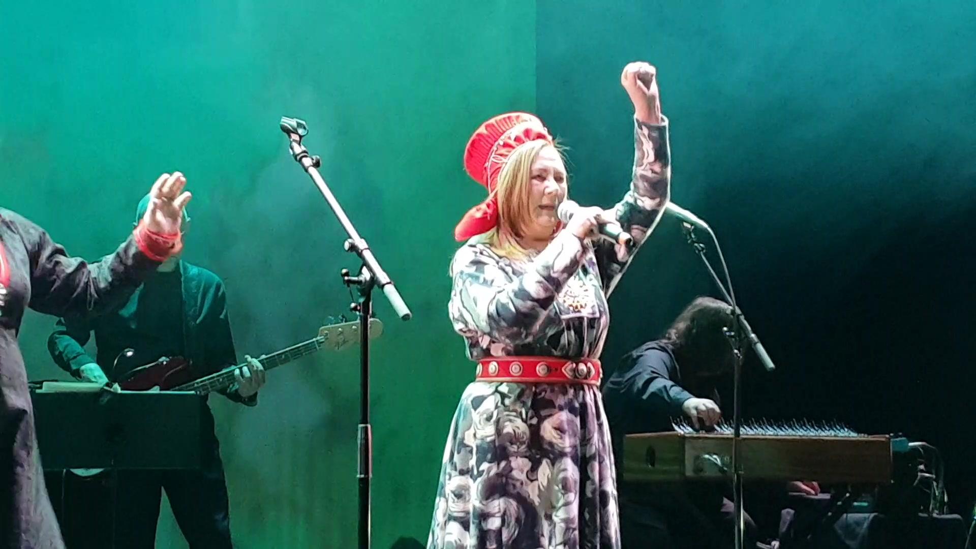 Sara Ajnnak og Mari Boine samisk festkonsert Oslo 2feb19