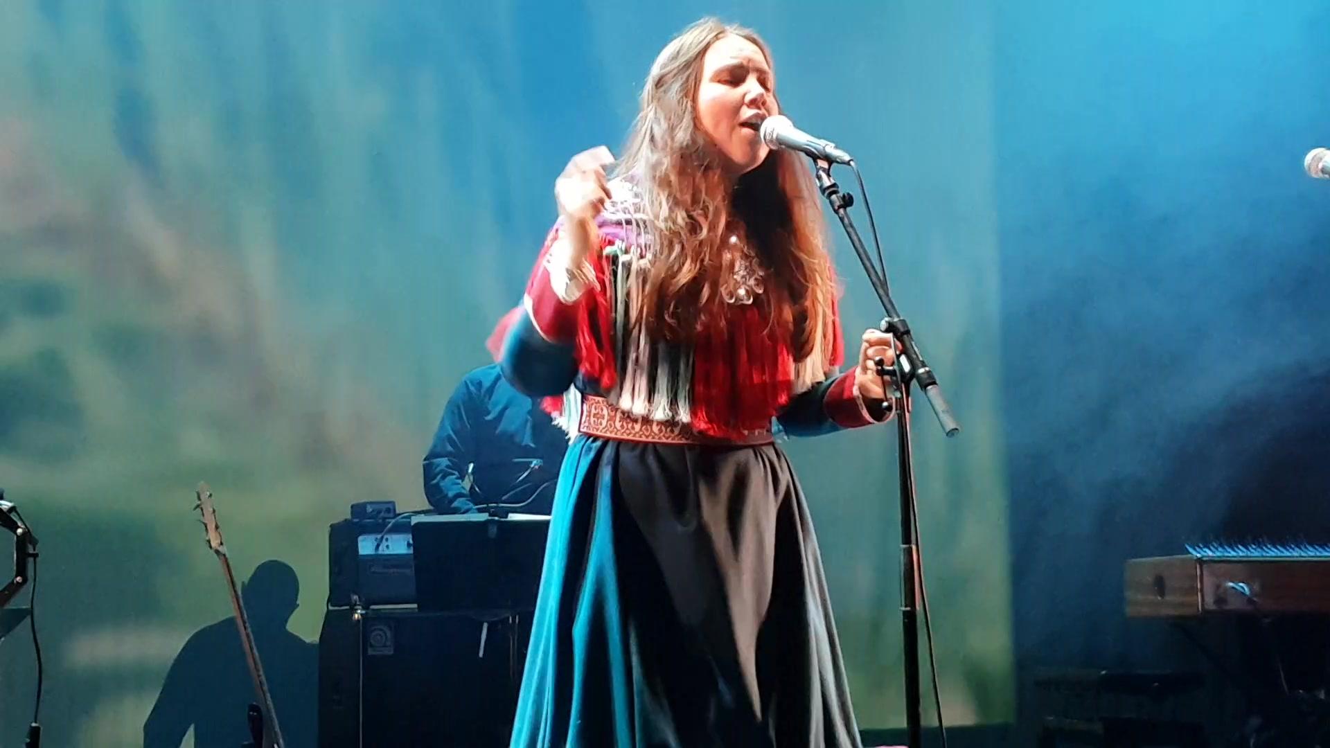 Kajsa Balto samisk festkonsert Oslo 2feb19