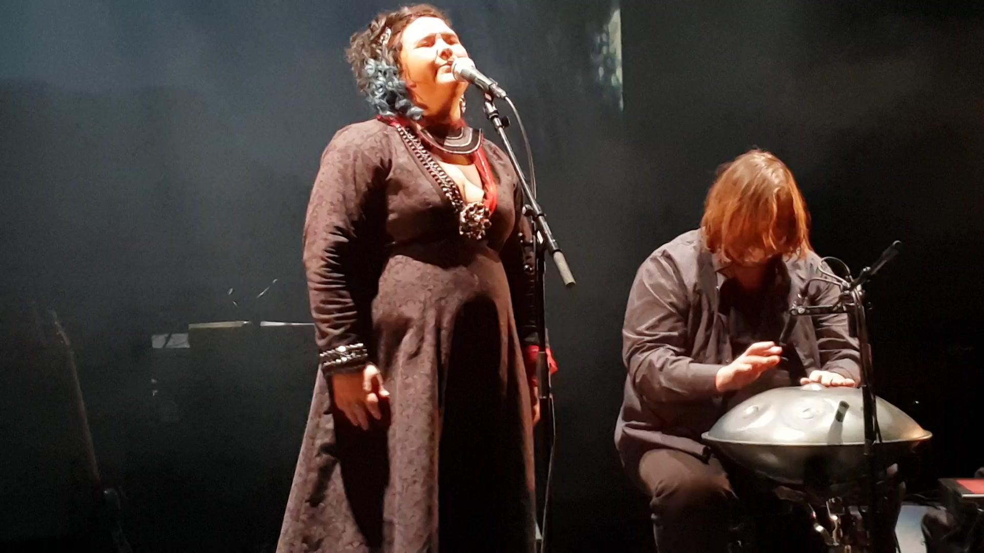 Sara Ajnnak og Stein Austrud Samisk festkonsert