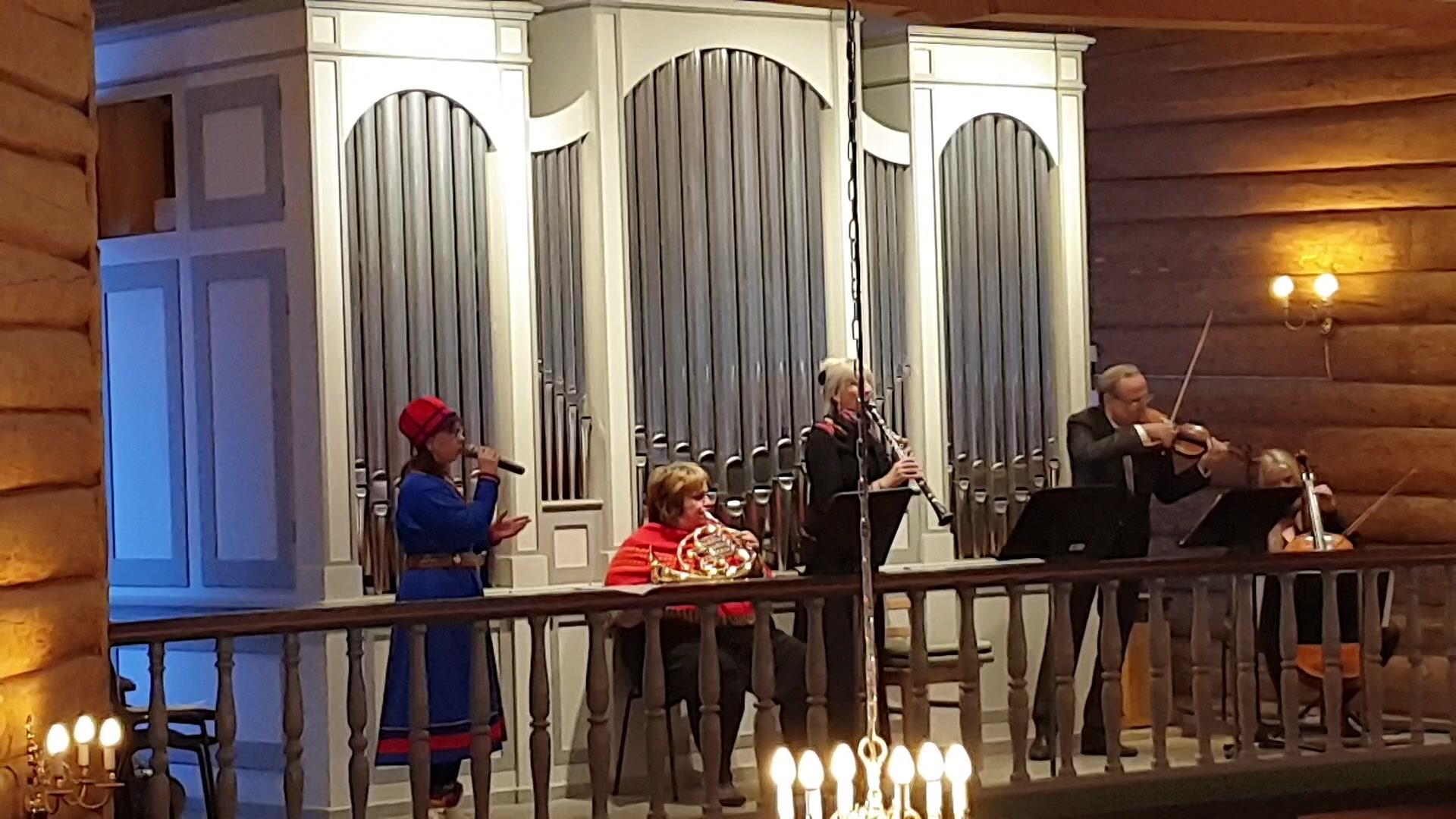 Elen Kristina Utsi synger Elle