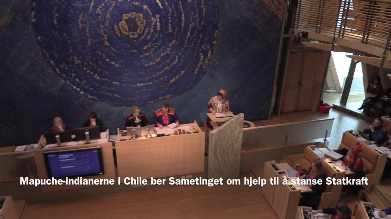 Mapucher sloss mot norske Statskraft 35 år etter Alta-konflikten