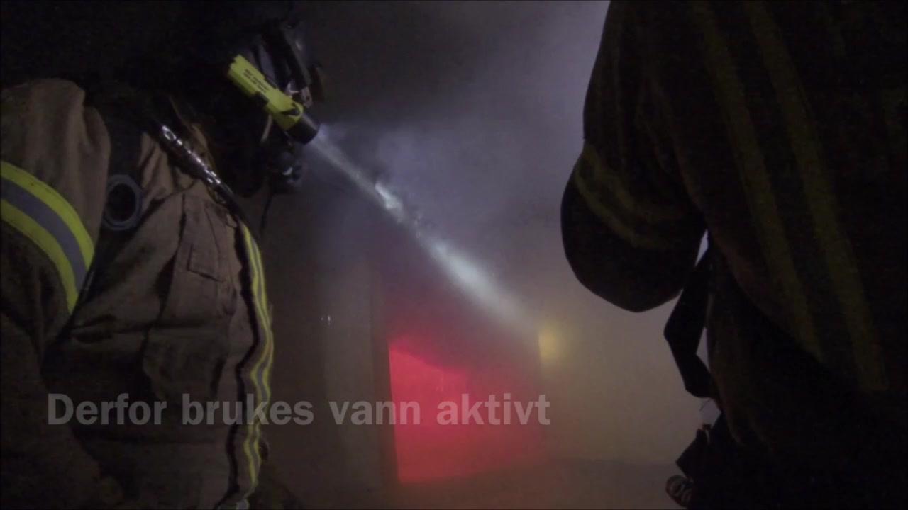 Brannøvelse i Lakselv