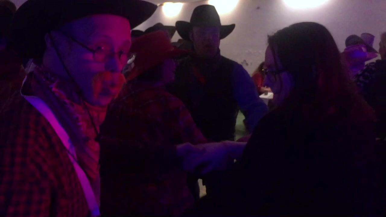 Cowboy-fest i Olderfjord