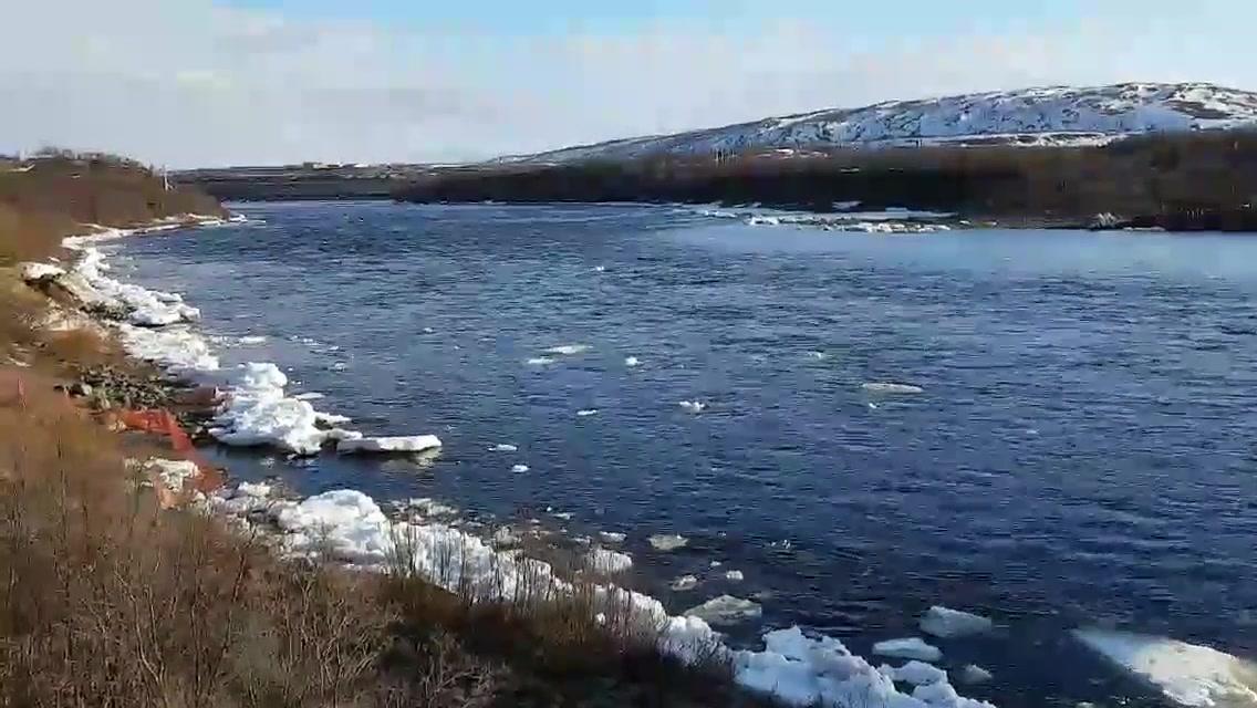 Isgang ved Tanabru